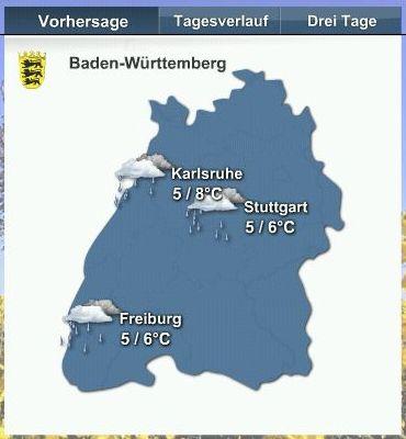 Wetter in Ba-Wü