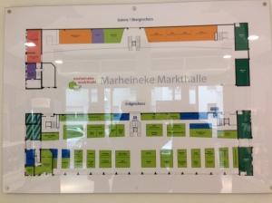 Schild Marheineke Markthalle