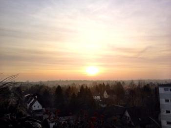 Sonnenuntergang Spandau