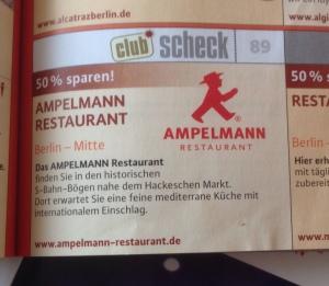 Gutschein Ampelmann