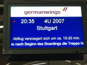 Abflug in Tegel