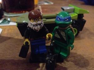 Ninja Turtle und ich
